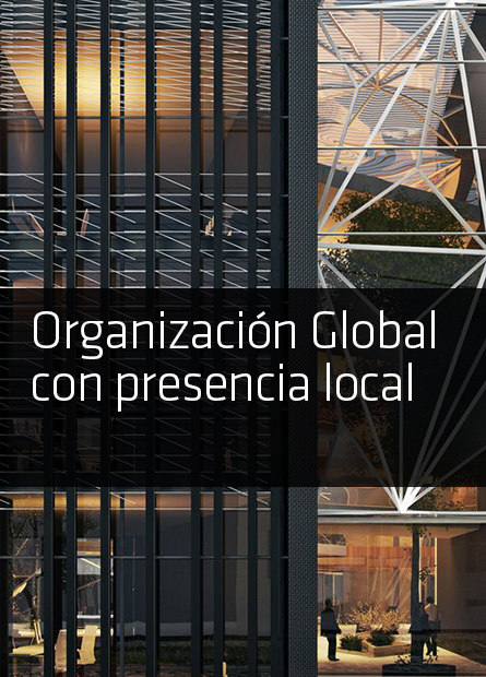 Organización Global con presencia local